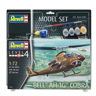 Revell Revell Model Set Bell Cobra Renkli